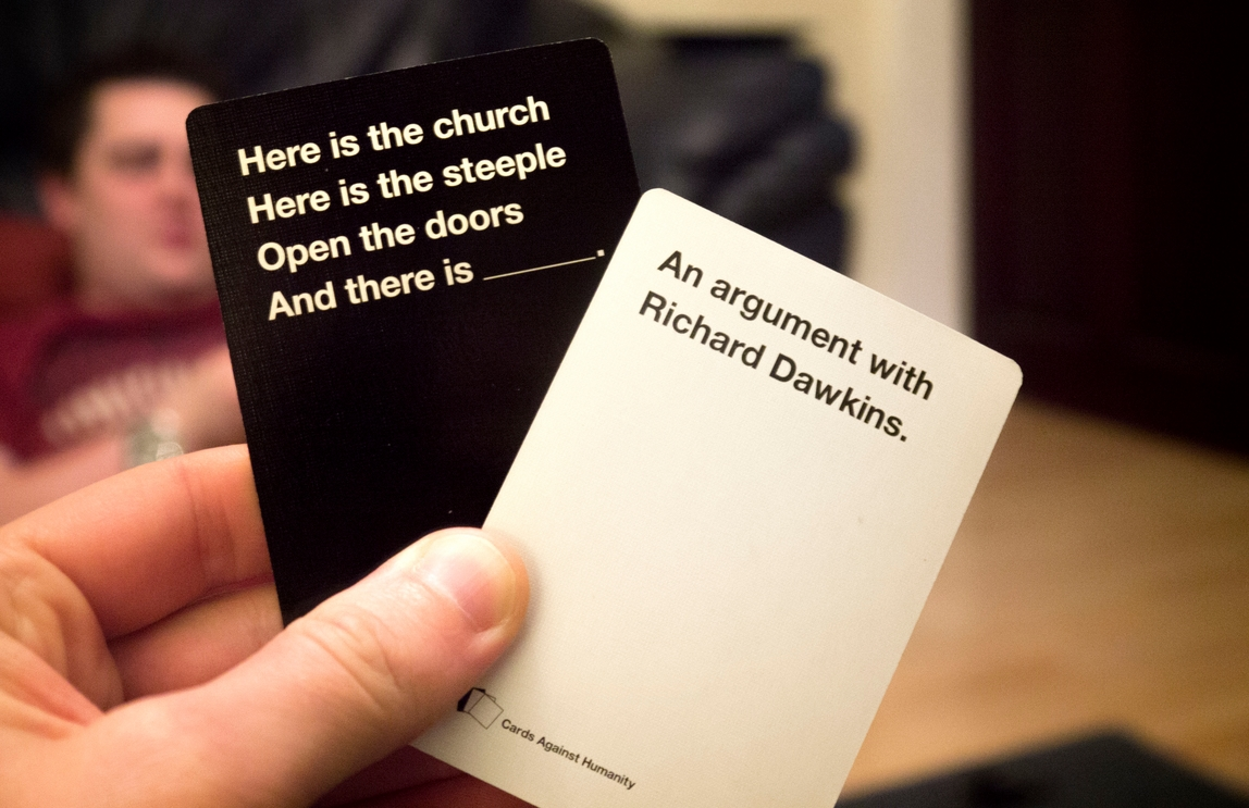 Cards Against Humanity Las Vegas >> Cards Against Humanity Earned 71 000 In Black Friday Sales By